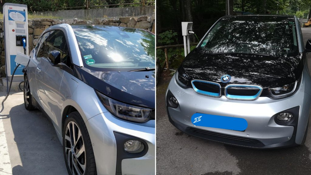 BMW i3 with Range Extender tested by team members from AMPECO EV Charging Platform