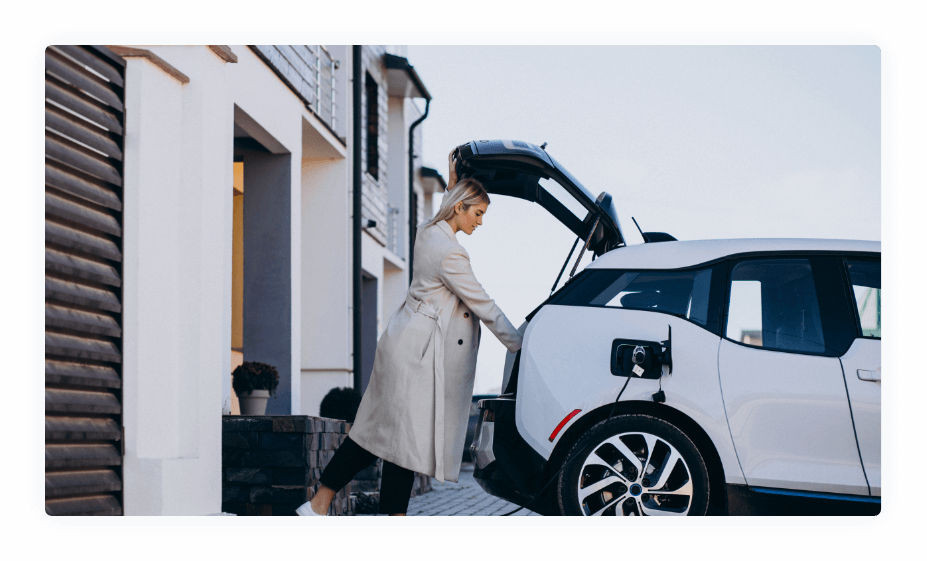 """Energy utilities - But this """"green revolution"""" has also given rise to Electric Vehicles. EV adoption is happening everywhere, but it has a major barrier in its way – a lack of charging infrastructure. Energy utilities can help solve the issue!"""