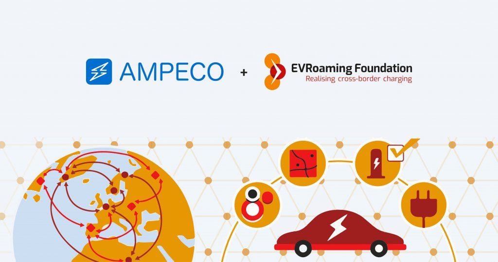 AMPECO joins the EVRoaming Foundation - We are happy to announce that we have joined the EVRoaming Foundation.