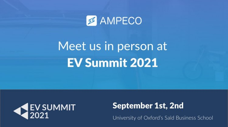 Meet AMPECO in person at EV Summit 2021